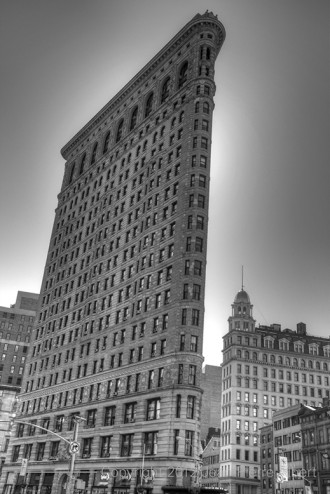 Flat Iron Getting the BW treatment