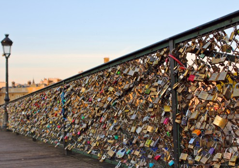 Romance Locks - Pont des Arts