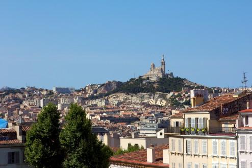 Marseille depuis Saint-Charles